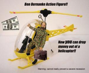 Ben Bernanke helicopter
